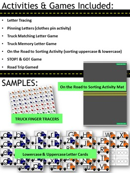 Road Letters: Games and Activities