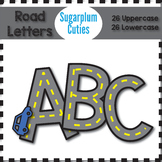 Road Letters, Road Clipart, Letters Clipart