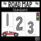 Road Map Tracing Cards for Numbers 1 through 20 #Spedgivesthanks