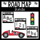 Alphabet Formation Letters Numbers Road Maps