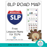 Road Map for November: Speech and Language Lesson Plans