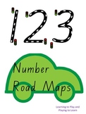 Road Number Maps 0-10