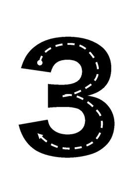roadnumbers 3