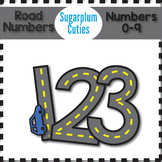Road Numbers, Road Clipart, Numbers Clipart