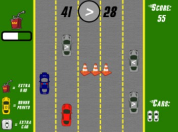 Road Racer - Comparing Numbers (Playable at RoomRecess.com)