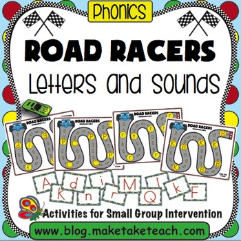 Alphabet - Road Racers