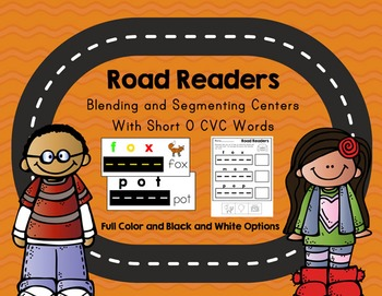 Road Readers Blending and Segmenting CVC Words with Short O