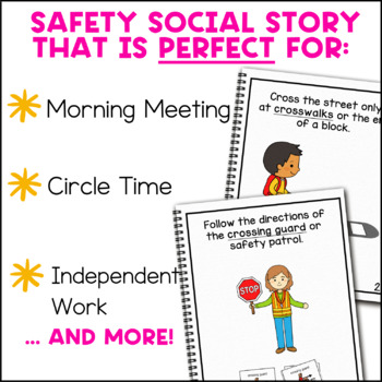 Road Safety: A Social Story Adapted Book for Students with Autism