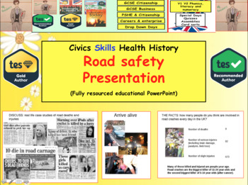 Road Safety Presentation; How to stay safe.
