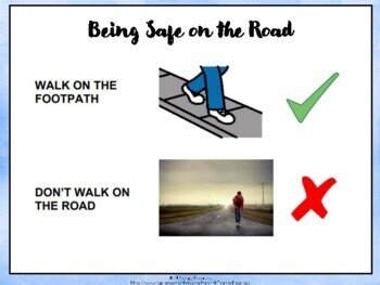 Road Safety Social Story: Autism, ABA