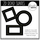 Road Shape Clip Art