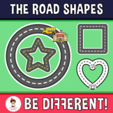 Road Shapes Clipart (Guided Set)