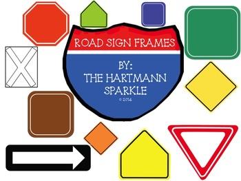 Road Sign Frames