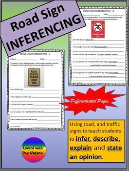 Road Sign Inferencing