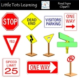 Road Signs Clip Art 1