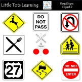 Road Signs Clip Art 2