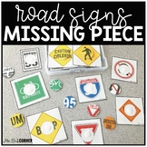Road Signs Missing Pieces Task Box | Task Boxes for Specia