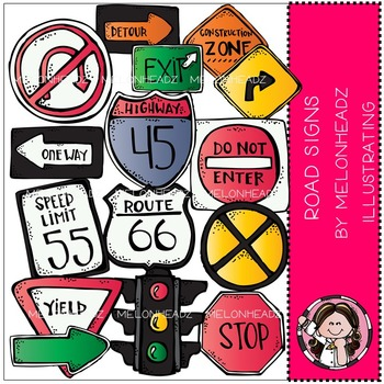 Road Signs clip art - by Melonheadz