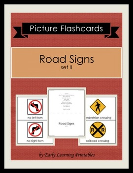 Road Signs (set II) Picture Flashcards