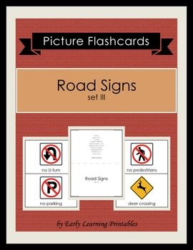 Road Signs (set III) Picture Flashcards