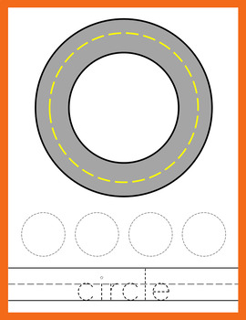 Road Themed Shape Mats - Playdough or Cars