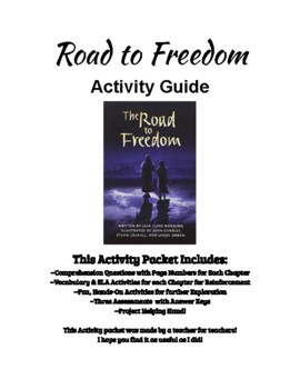 Road To Freedom Activity Guide