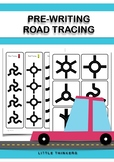 Road Tracing: Pre-writing resource