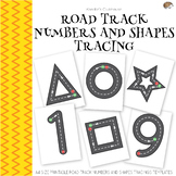 Road Track Numbers and Shapes Tracing