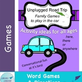 Word Games for a Road Trip