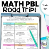 Early Finishers Math Enrichment Activity: Road Trip Vacation