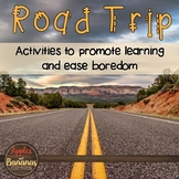 Road Trip - Activities that Promote Learning While on Vacation