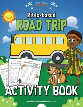 FREEBIE Road Trip Activity Book (Bible-based)
