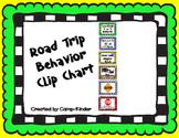 Road Trip Behavior Clip Chart