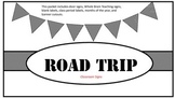 Road Trip Classroom Signs and Decor