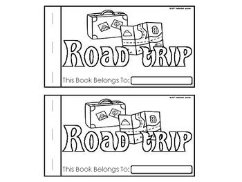 Road Trip Emergent Reader