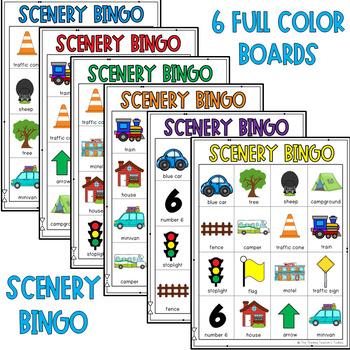 Road Trip Games Bingo BUNDLE