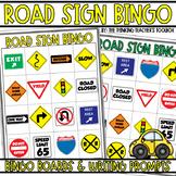Road Trip Games Road Sign Bingo
