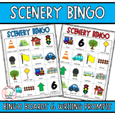 Road Trip Games Scenery Bingo