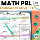 Math Enrichment Activity: Road Trip Vacation (Halloween)