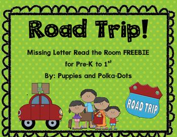 Road Trip! Literacy Freebie for Summer School