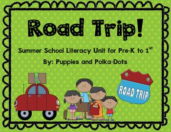 Road Trip! Literacy Unit for Summer School