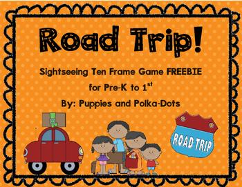Road Trip! Math Freebie for Summer School