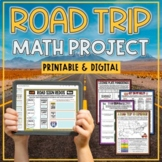 Road Trip Math Project