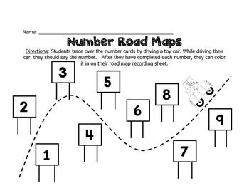 Road Trip! Math Unit for Summer School
