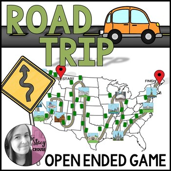 Road Trip Open Ended Game