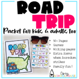 Road Trip Packet for Kids and Adults too!