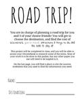 Road Trip Performance Task