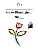Road Trip planning activity for The Watsons Go to Birmingham