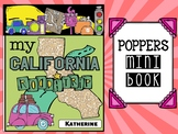 Road Trip Poppers Mini Book : California : State Facts, Re