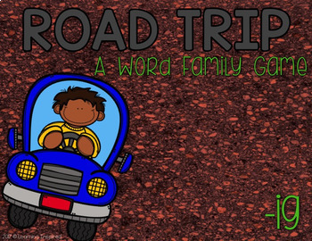 Road Trip: Short I Word Family Games